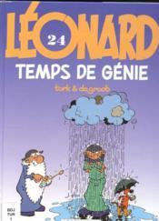 Leonard ancienne edition - t24 - temps de genie - Couverture - Format classique