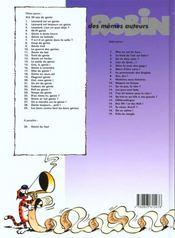 Leonard ancienne edition - t24 - temps de genie - 4ème de couverture - Format classique