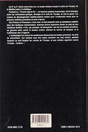 Princes et princesses de la celtique (850-450 avant j.-c.) - 4ème de couverture - Format classique