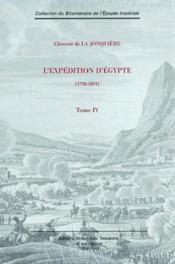 L'expédition d'égypte t.4 - Couverture - Format classique