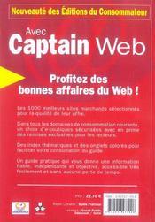 Captain Web - 4ème de couverture - Format classique
