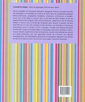 Cruaute Et Utopie - Villes Et Paysages D Amerique Latine /Francais/Anglais - 4ème de couverture - Format classique