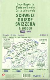 Carte de vol à voile ; Suisse - Couverture - Format classique