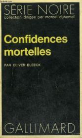 Collection : Serie Noire N° 1518 Confidences Mortelles - Couverture - Format classique