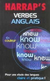 Harrap'S Verbes Anglais - Couverture - Format classique