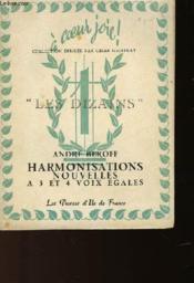 Harmonisations Nouvelles A 3 Et 4 Voix Egales - Couverture - Format classique