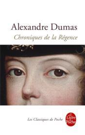 Chroniques de la Régence - Couverture - Format classique