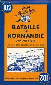 Cartes thematiques et touristique ; bataille de normandie - Intérieur - Format classique