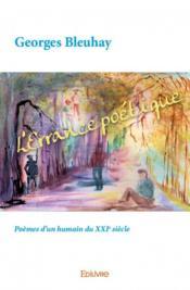 L'errance poétique ; poèmes d'un humain du XXIe siècle - Couverture - Format classique