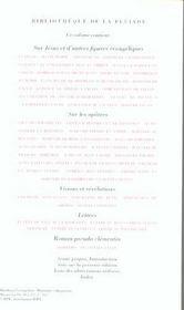 Ecrits apocryphes chretiens (tome 2) - 4ème de couverture - Format classique