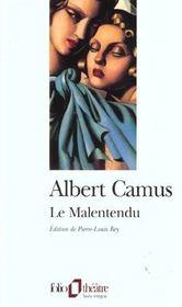 telecharger Le malentendu livre PDF/ePUB en ligne gratuit