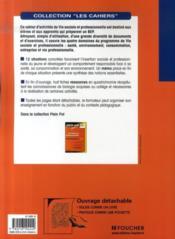 Vie sociale et professionnelle ; bep - Couverture - Format classique