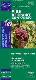 Vins de France / wines of France - Couverture - Format classique