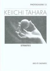 Keiichi Tahara - Strates - Intérieur - Format classique