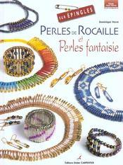Perles de rocaille et perles fantaisie sur épingles - Intérieur - Format classique