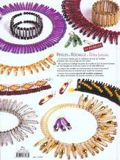 Perles de rocaille et perles fantaisie sur épingles - 4ème de couverture - Format classique