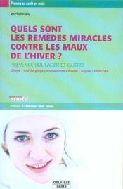 Remedes Miracles Contre Les Maux De L'Hiver - Intérieur - Format classique