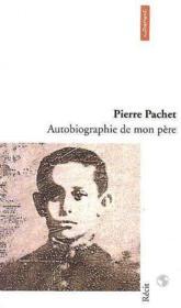 Autobiographie de mon pere - Couverture - Format classique