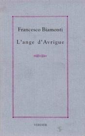 L'ange d'Avrigue - Couverture - Format classique