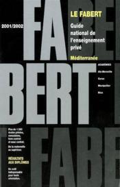 Fabert Mediterranee 2001/02 - Couverture - Format classique