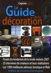 Le guide de la décoration - Intérieur - Format classique