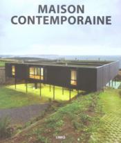Maison contemporaine - Couverture - Format classique