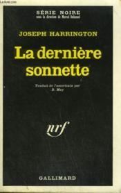 La Derniere Sonnette. Collection : Serie Noire N° 1339 - Couverture - Format classique