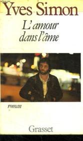 L Amour Dans L Ame. - Couverture - Format classique