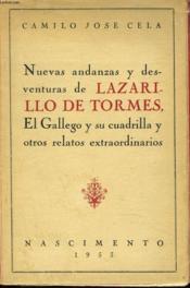 Nuevas Andanzas Y Desventuras De Lazarillo De Tormes, El Gallego Y Su Cuadrilla Y Otros Relatos Extraordinarios. - Couverture - Format classique