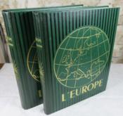 L'Europe. Géographie en deux volumes. - Couverture - Format classique