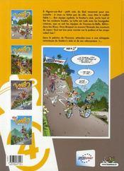 Les Vélo Maniacs T.4 ; avec Richard Virenque - 4ème de couverture - Format classique