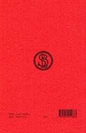 Annales t3 l11-12 - 4ème de couverture - Format classique