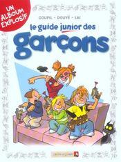 Le guide junior des garçons - Intérieur - Format classique