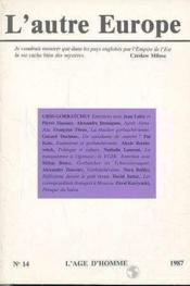 A14 Autre Europe (L') Urss-Gorbatchev - Couverture - Format classique