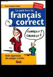Le petit livre du français correct (édition 2002) - Couverture - Format classique