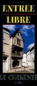 Entrée libre la Charente - Couverture - Format classique