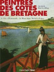 Peintres des côtes de Bretagne t.1 - Couverture - Format classique
