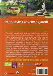 Le guide de l'art de vivre au jardin - 4ème de couverture - Format classique