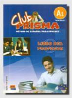 Club prisma a1 libro del profesor cd - Couverture - Format classique