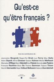 Qu'est-ce qu'être Français ? - Couverture - Format classique