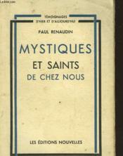 Mystique Et Saints De Chez Nous - Couverture - Format classique