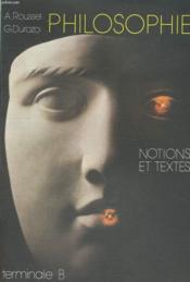 Notions Et Textes Tb - Couverture - Format classique
