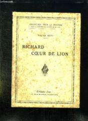 Richard Coeur De Lion. - Couverture - Format classique