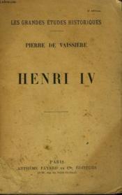 Henri Iv. - Couverture - Format classique