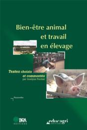 Bien-être animal et travail en élevage - Couverture - Format classique