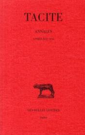 Annales t.4, XIII-XVI - Couverture - Format classique