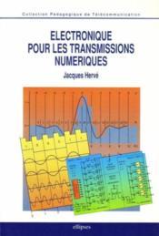 Electronique pour les transmissions numeriques - Couverture - Format classique