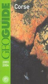 Geoguide ; Corse (Edition 2003/2004) - Intérieur - Format classique