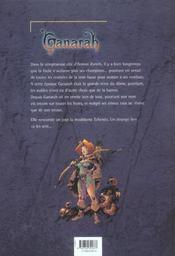 Ganarah t.1 - 4ème de couverture - Format classique