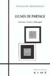 Lignes de partage - Intérieur - Format classique